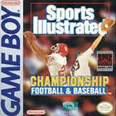 Sports Illustrated: Championship Football & Baseball Cover Art