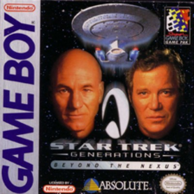 Star Trek Generations: Beyond the Nexus Cover Art