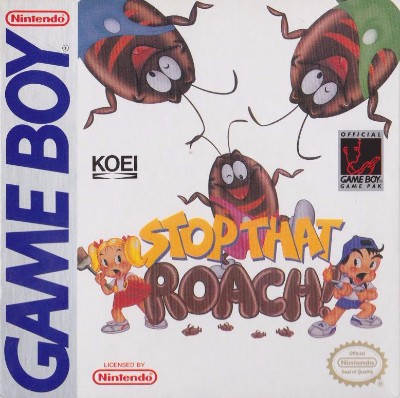 Stop That Roach! Cover Art