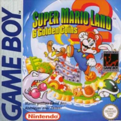 Super Mario Land 2: 6 Golden Coins Cover Art
