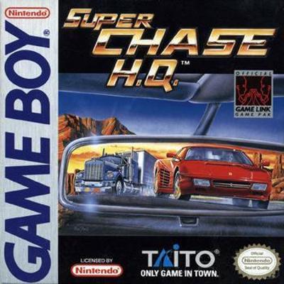 Super Chase H.Q. Cover Art