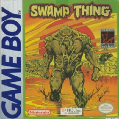 Swamp Thing Cover Art