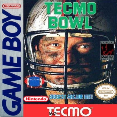 Tecmo Bowl Cover Art