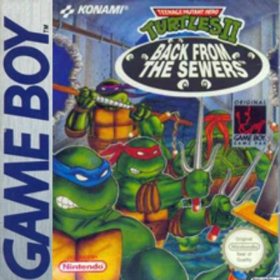 Teenage Mutant Ninja Turtles II: Back from the Sewers Cover Art