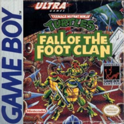 Teenage Mutant Ninja Turtles: Fall of the Foot Clan Cover Art
