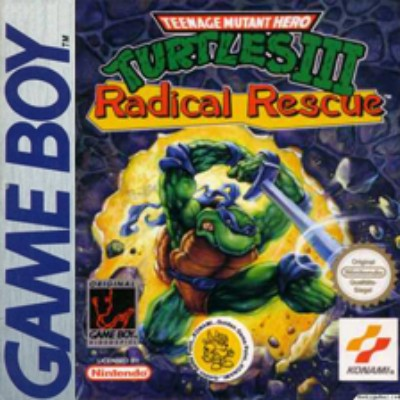 Teenage Mutant Ninja Turtles III: Radical Rescue Cover Art