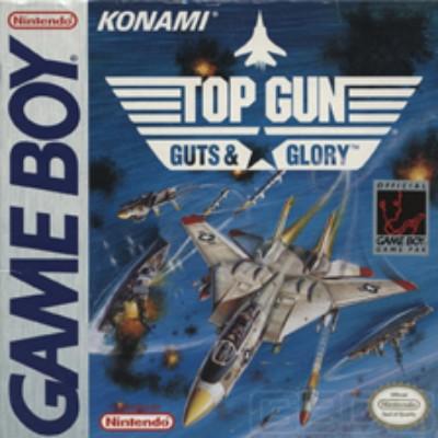 Top Gun: Guts & Glory Cover Art