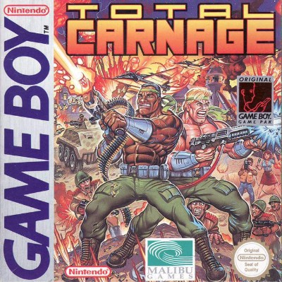 Total Carnage Cover Art