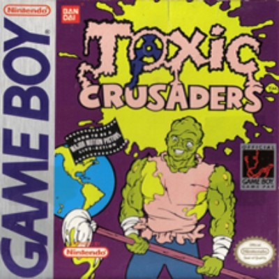 Toxic Crusaders Cover Art