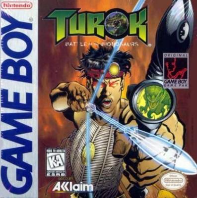 Turok: Battle of the Bionosaurs Cover Art