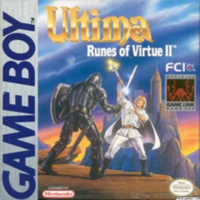Ultima: Runes of Virtue II Cover Art