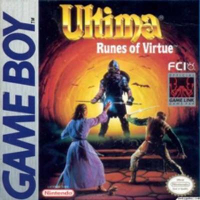 Ultima: Runes of Virtue Cover Art