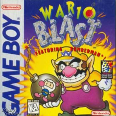 Wario Blast: Featuring Bomberman! Cover Art