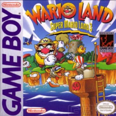Wario Land: Super Mario Land 3 Cover Art