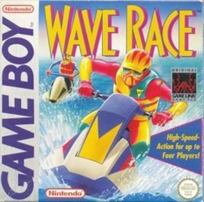 Wave Race Cover Art