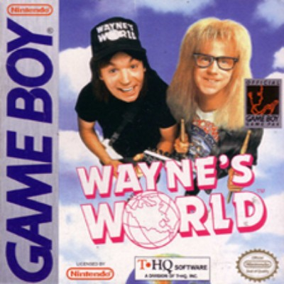 Wayne's World Cover Art