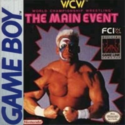 WCW: The Main Event Cover Art