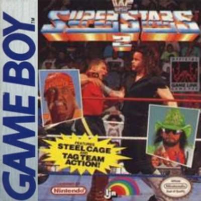 WWF Superstars 2: Steel Cage Challenge Cover Art
