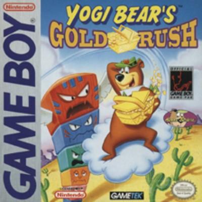 Yogi Bear's Goldrush Cover Art