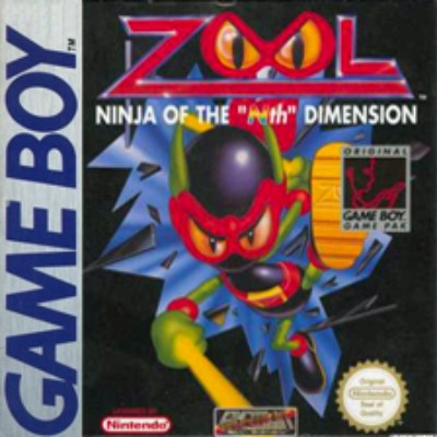 Zool: Ninja of the Nth Dimension Cover Art