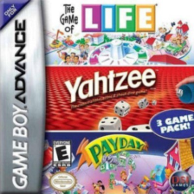Game of Life & Yahtzee & Payday Cover Art