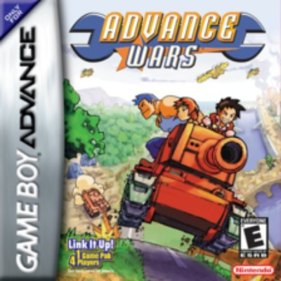 Advance Wars Cover Art