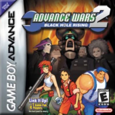 Advance Wars 2: Black Hole Rising Cover Art