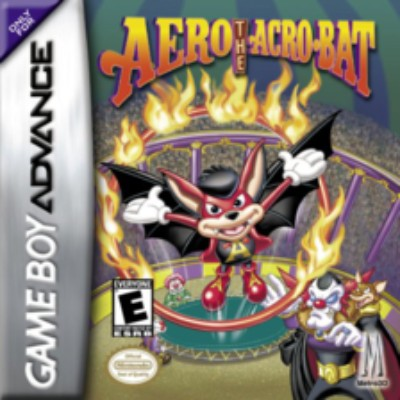 Aero The Acro-Bat Cover Art