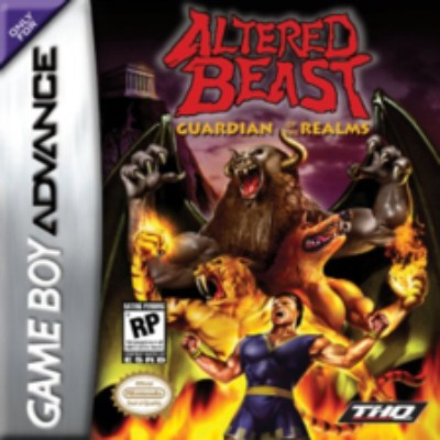 Altered Beast: Guardian of the Realms Cover Art