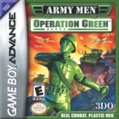 Army Men: Operation Green Cover Art