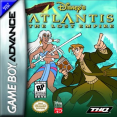 Atlantis: The Lost Empire Cover Art