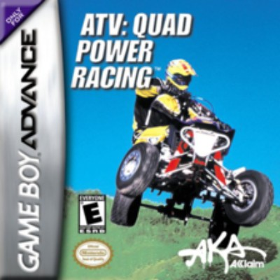 ATV: Quad Power Racing Cover Art
