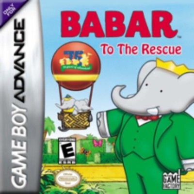Babar to the Rescue Cover Art