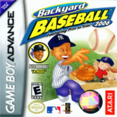 Backyard Baseball 2006 Cover Art
