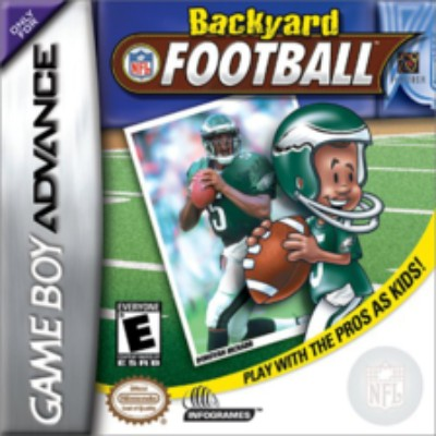 Backyard Football Cover Art