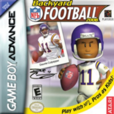 Backyard Football 2006 Cover Art