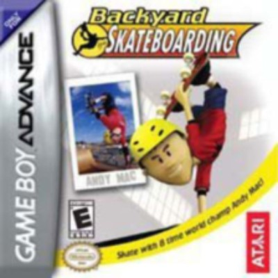 Backyard Skateboarding Cover Art