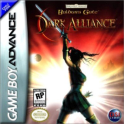 Baldur's Gate: Dark Alliance Cover Art