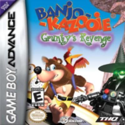Banjo-Kazooie: Grunty's Revenge Cover Art