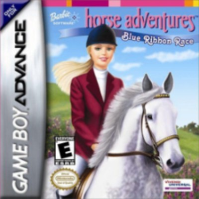 Barbie Horse Adventures: Blue Ribbon Race Cover Art