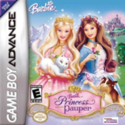 Barbie: The Princess and the Pauper Cover Art