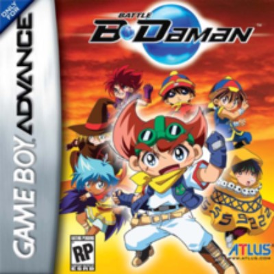 Battle B-Daman Cover Art