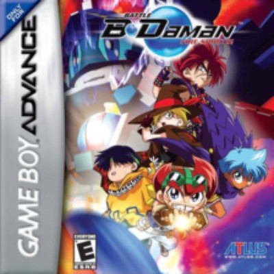 Battle B-Daman: Fire Spirits! Cover Art