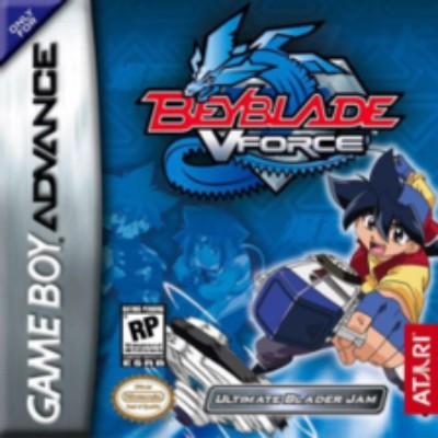 Beyblade VForce: Ultimate Blader Jam Cover Art