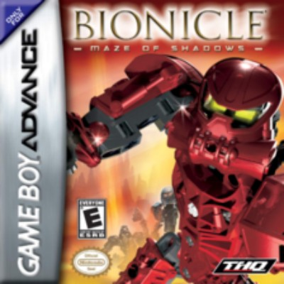 Bionicle: Maze of Shadows Cover Art
