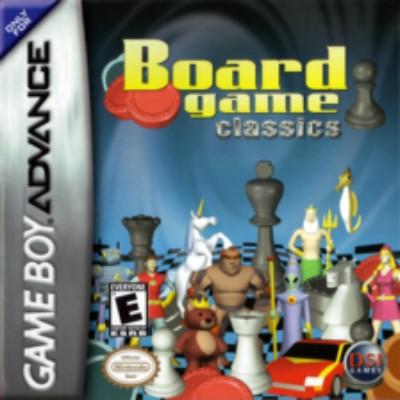 Board Game Classics Cover Art