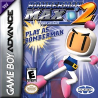 Bomberman Max 2 Blue Cover Art
