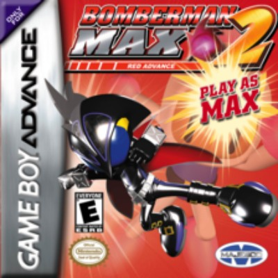 Bomberman Max 2 Red Cover Art