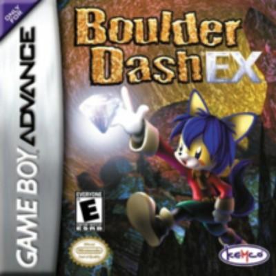 Boulder Dash EX Cover Art