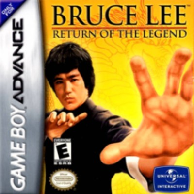Bruce Lee: Return of the Legend Cover Art